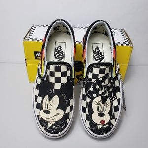 Vans Classic Slip On Disney Mickey & Minnie